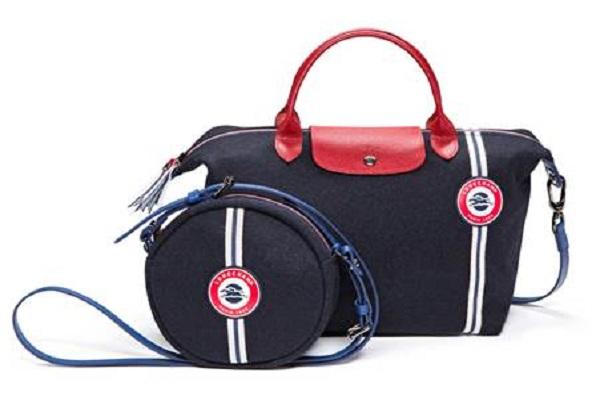 لونغ شامب تستعرض ألوان العلم الفرنسي في أحدث حقائبها