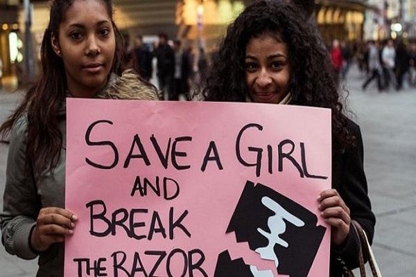 هناك حملات مناهضة لختان الإناث، لكن أغلبها لا يحقق نجاحا