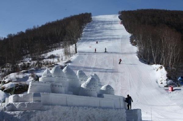 الصين تطور قطاع الرياضات الشتوية