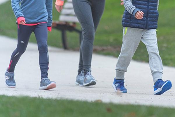 المشي يمنحك الوزن المثالي