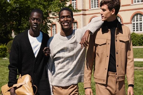 إتش آند إم تطلق تشكيلة ملابسها الرجالية لخريف وشتاء 2018