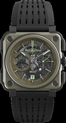 ساعة رياضية عسكرية من بيل روس