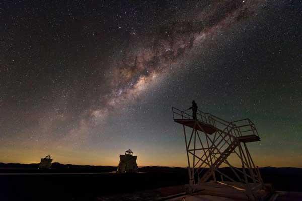 مرصد سيرو بارانال في صحراء أتاكاما، شيلي