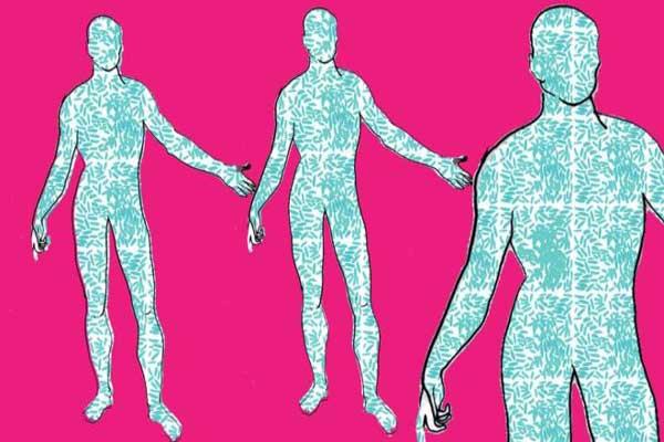 بشريتنا تشكل أقلية تكويننا البدني