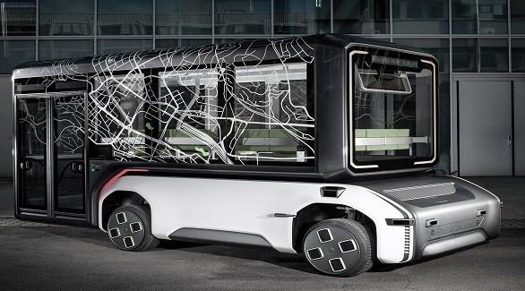 مركبة كهربائية ثورية تتحول من حافلة إلى شاحنة بضائع