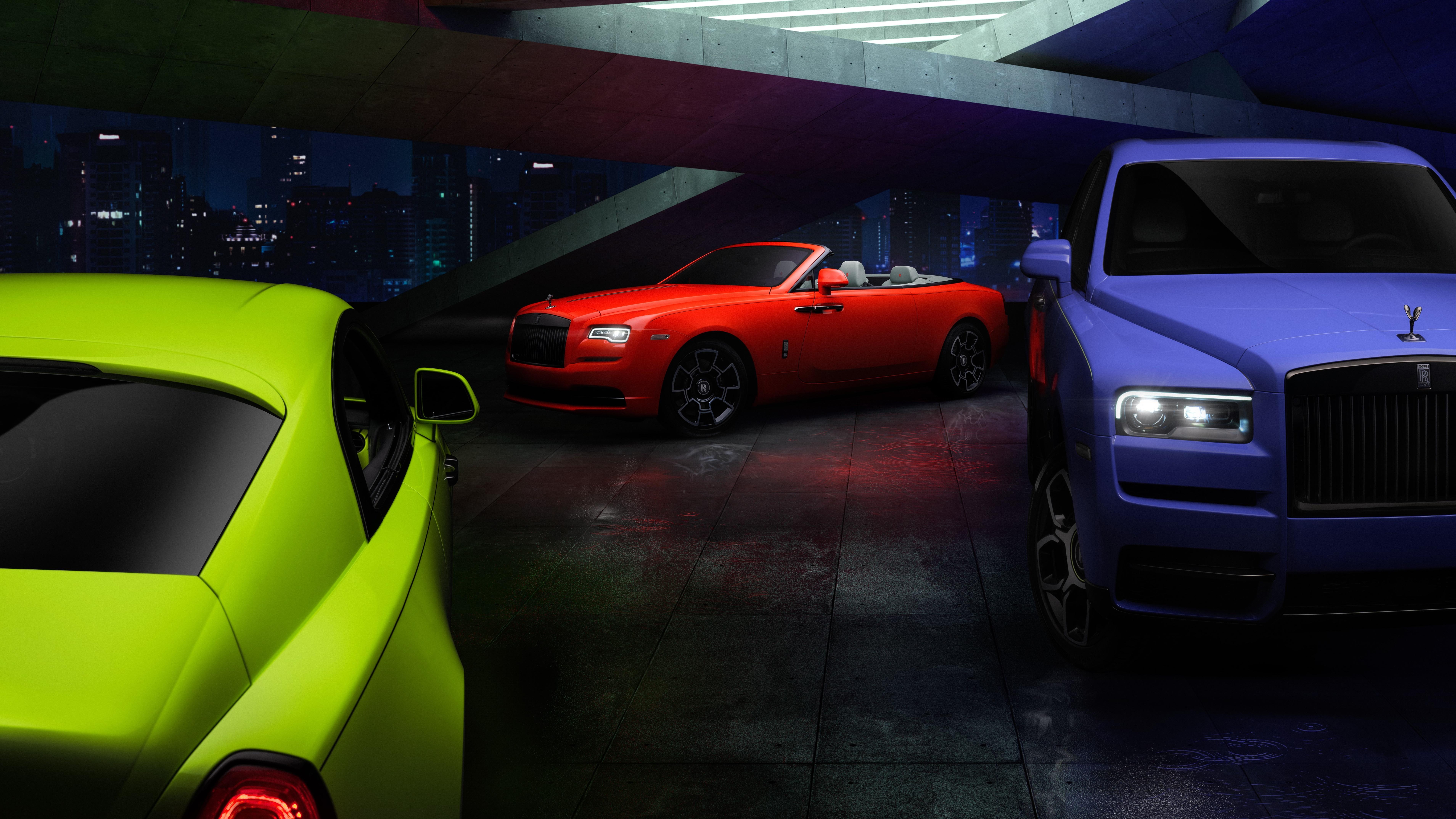 رولز-رويس تضفي ألواناً جريئةعلى سيارات بلاك بادج