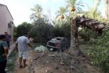 من آثار المعارك في طرابلس