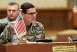 الجنرال الأميركي جوزف فوتيل خلال اجتماع الكويت في 12 سبتمبر
