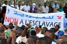 متظاهرون ينددون بالعبودية في نواكشوط بتاريخ 29 إبريل 2015