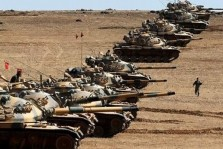 قوات تركية في أراضي العراق الشمالية