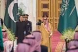 الملك سلمان مستقبلًا عمران خان