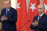 الرئيسان الروسي والتركي في مؤتمرهما الصحفي المشترك