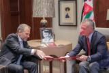 عاهل الأردن يتسلم رسالة الرئيس اللبناني