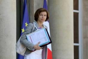 وزيرة الجيوش الفرنسية فلورانس بارلي في الإليزيه بتاريخ 6 يوليو 2018