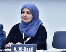 البرلمانية الإماراتية عفراء راشد البسطي عضو المجلس الوطني الاتحادي