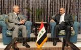 طارق الهاشمي مع عبد المهدي
