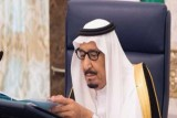 العاهل السعودي خلال جلسة مجلس الوزراء