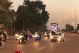 سيارات العراقيين تدخل المنطقة الخضراء بعد فتح شوارعها للجمهور