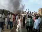 جانب من احتجاجات السودان
