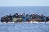 فقدان 15 مهاجراً إثر غرق مركب قبالة السواحل الليبية
