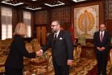 الملك محمد السادس يستقبل موغيريني بالقصر الملكي بالرباط اليوم