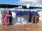 مخيم لنازحين ليبيين - ارشيفية