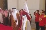 أمير الكويت الشيخ صباح الأحمد الصباح يجري مباحثات مع أمير قطر
