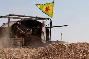 عنصر مقاتل من قوات سوريا الديموقراطية