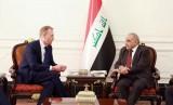 عبد المهدي مجتمعا مع شاهانان وزير الدفاع الاميركي