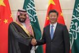 ولي العهد السعودي خلال لقاء مع الرئيس الصيني - أرشيفية
