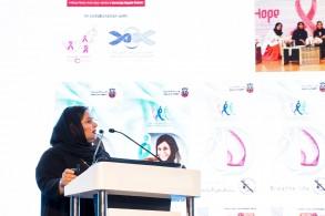 الدكتورة منى الكواري مديرة قسم الرعاية المتخصصة في وزارة الصحة الإماراتية