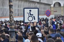 من تظاهرات يوم الجمعة في العاصمة الجزائرية