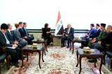 عبد المهدي مجتمعًا مع مساعدة وزير الخارجية الأميركية