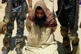 أحد عناصر داعش بيد القوات العراقية