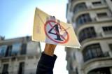 طلاب جزائريون يتظاهرون في وسط العاصمة في 12 مارس 2019