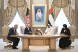 ولي عهد أبوظبي والرئيس الأفغاني يشرفان على توقيع عدد من مذكرات التفاهم