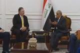 رئيس الوزراء العراقي عادل عبدالمهدي مستقبلًا مايك بومبيو - أرشيفية