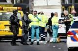 الشرطة وخدمات الطوارئ بعد حادث اطلاق النار في أوتريخت