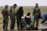 عناصر من قوات سوريا الديمقراطية في الباغوز