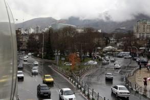 مشهد عام للعاصمة الايرانية طهران