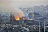 ماكرون: نوتردام دو باري تحترق