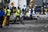 أحد مواقع الاعتداءات في كولمبو