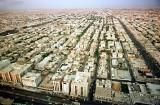 لقطة من الجو لمدينة الرياض في 10 فبراير 2000