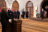 الوزراء الجدد خلال أداء اليمين أمام الملك