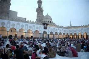 تجمع كبير في ذكرى تأسيس جامع الأزهر