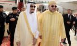 العاهل المغربي: ندين بشدة الأفعال الإرهابية التي استهدفت السعودية