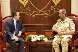 رئيس هيئة الأركان البحريني يلتقي سفير الولايات المتحدة الأميركية في المنامة