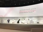 جلسة حوارية من جلسات منتدى الاعلام الاماراتي