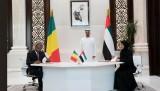 توقيع اتفاقيات بين الإمارات ومالي