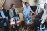الوفد المشترك أثناء اجتماعه بشيوخ من وجهاء ديرالزور